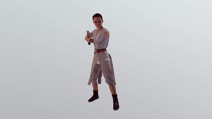 Rey 3D Model