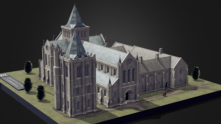 Cambuskenneth Abbey 3D Model