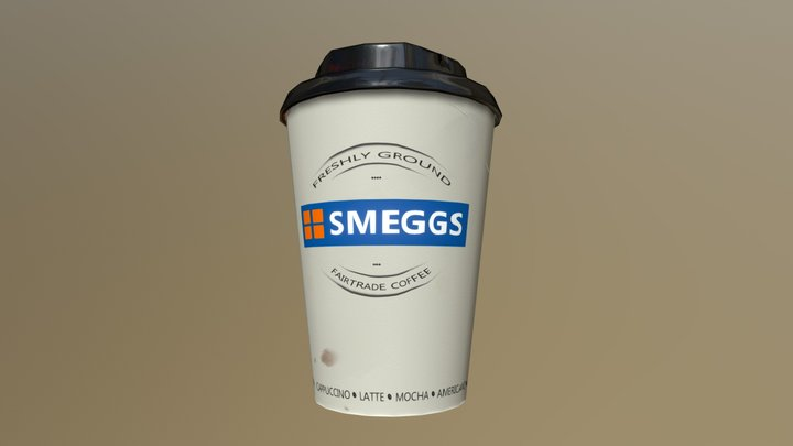 SMEGGS coffee cup 3D Model