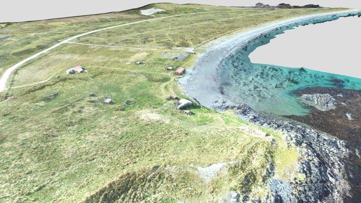 Playa Canal Beagle, Argentina 3D Model