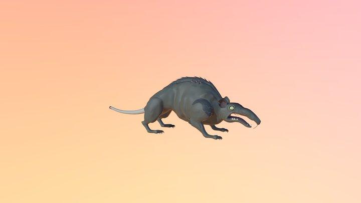 Animation Rat Boss2 3D Model