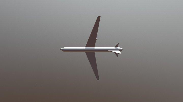 Airplane 0005 3D Model