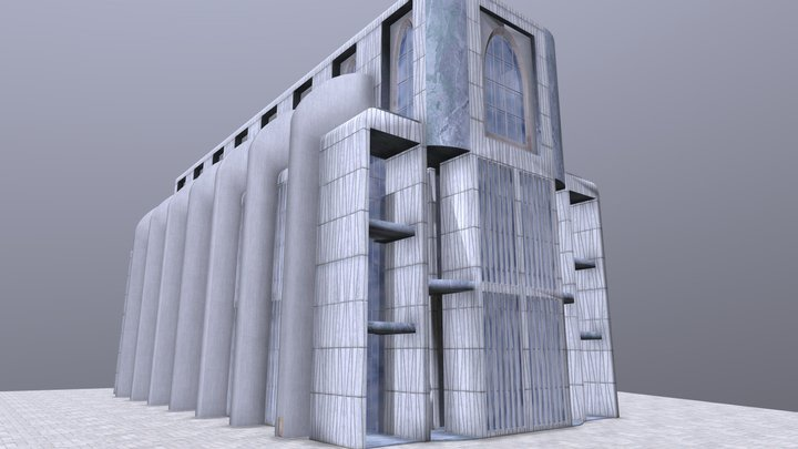 Cathedral of the Mind 3D Model