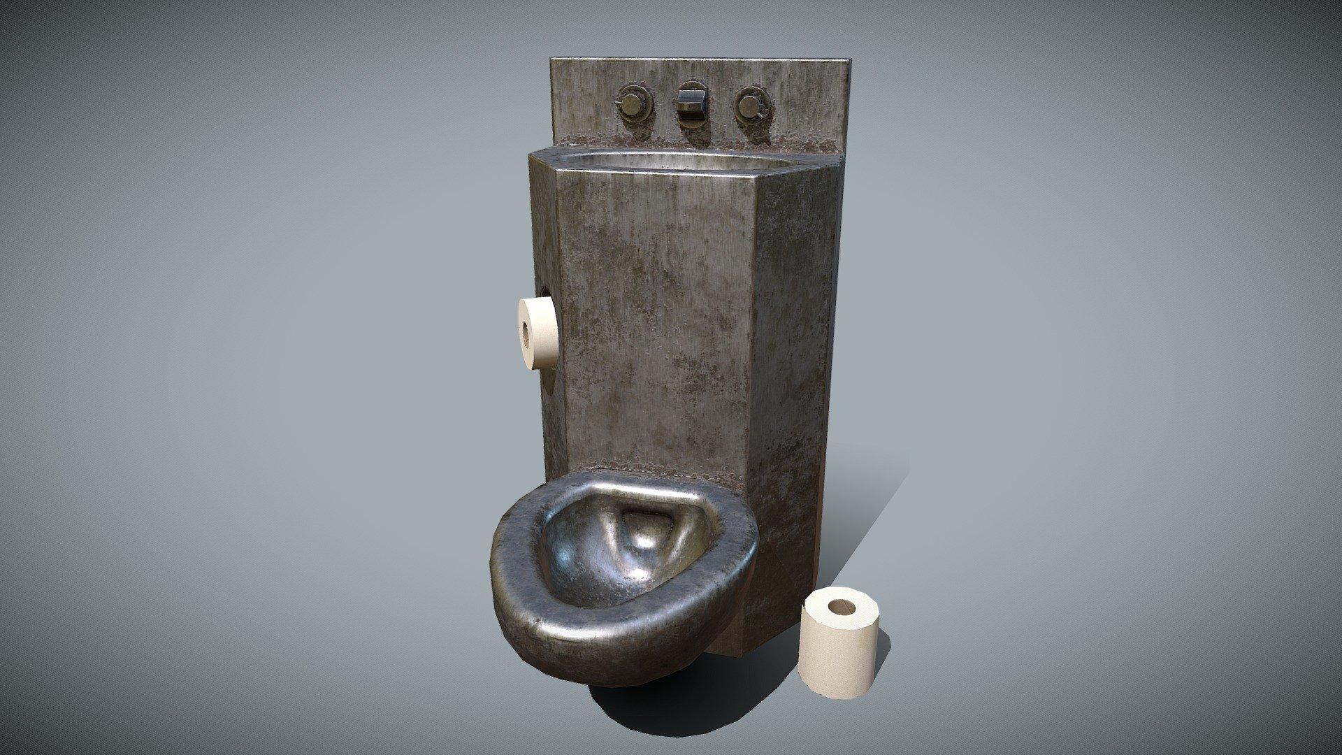 Prison Toilet Sink For Jail Cell Et