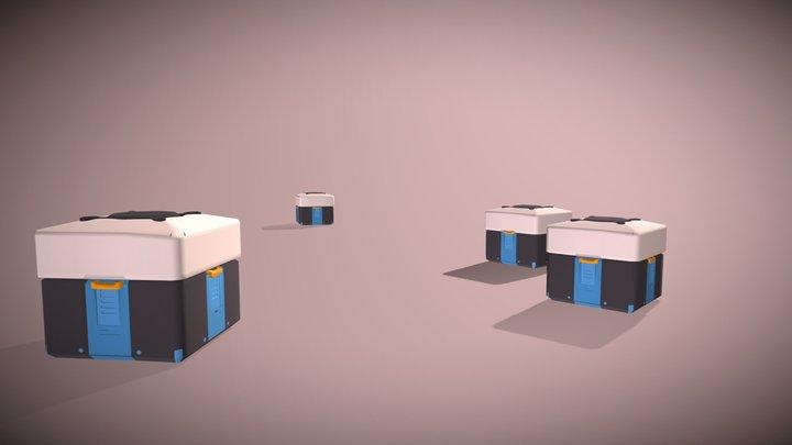 Lootbox 3D Model