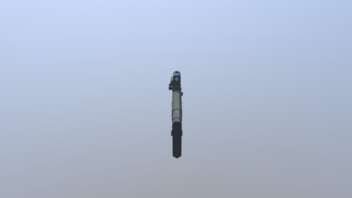XM8 - Assault Rifle 3D Model