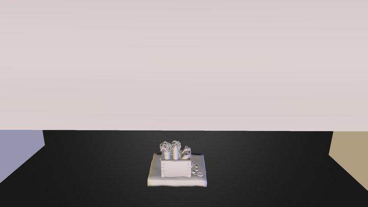 Steampunk Model 3D Model