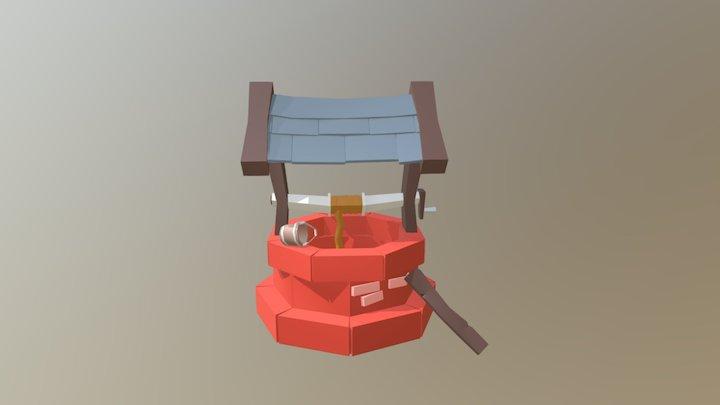 Pozo Lowpoly 3D Model