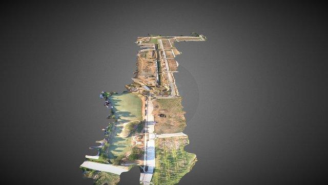 Riverwalk LOMR 3D Model