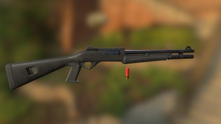 Beneli Super Nova Shotgun 3D Model