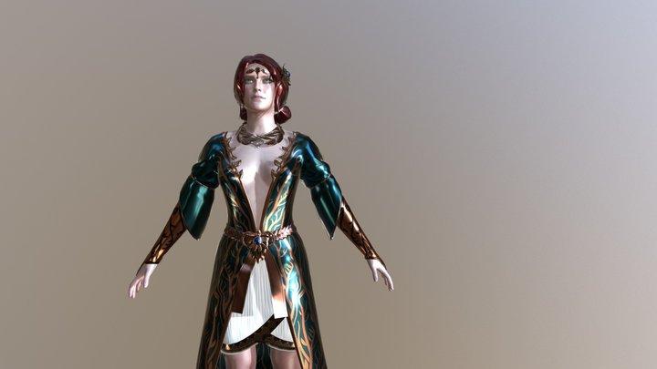 Triss 3D Model