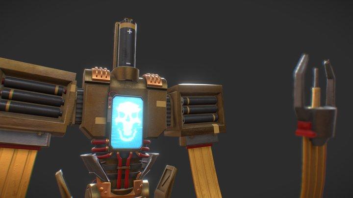 Battery Boy 3D Model