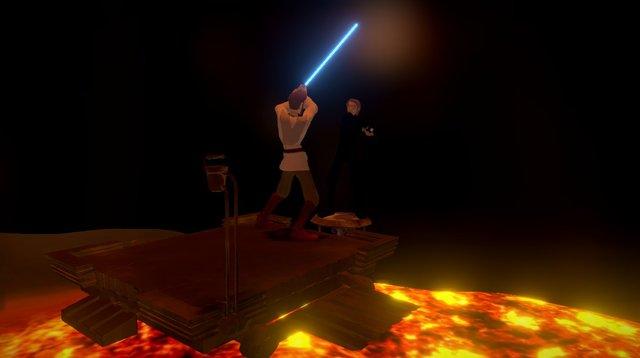 Star Wars Contest 2015: Duel on Mustafar 3D Model