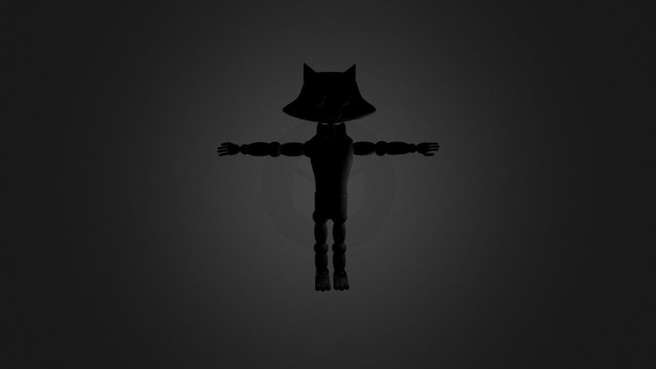 Suger The Cat Wip 3D Model
