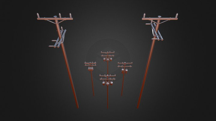 Utility Pole Revisions - 1/24 & 1/48 Scale