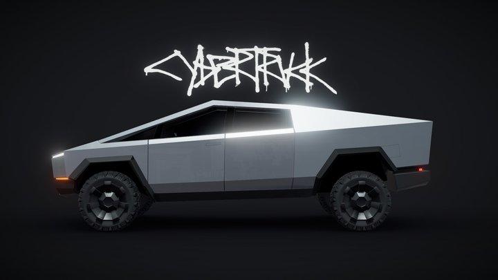 Tesla - Cybertruck 3D Model