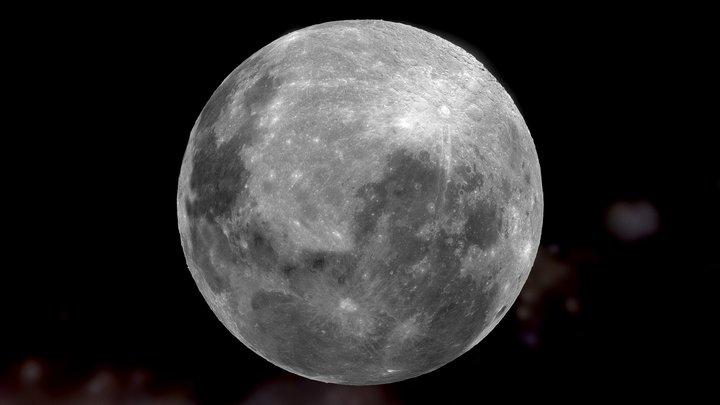 Moon 🌘 3D Model