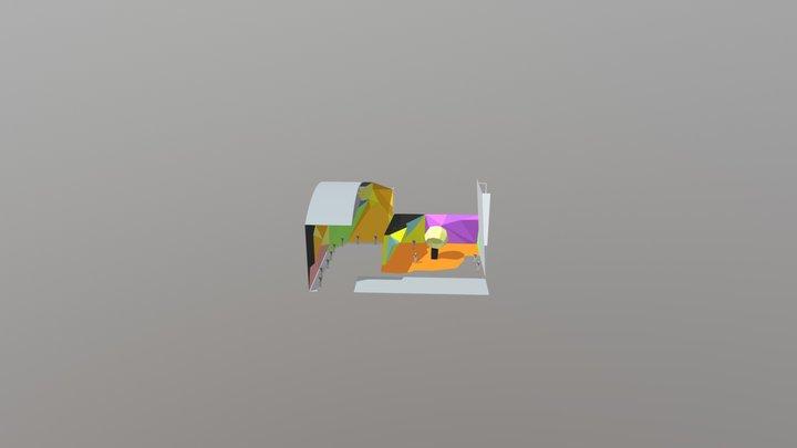 Ufa Skalodrom123 3D Model