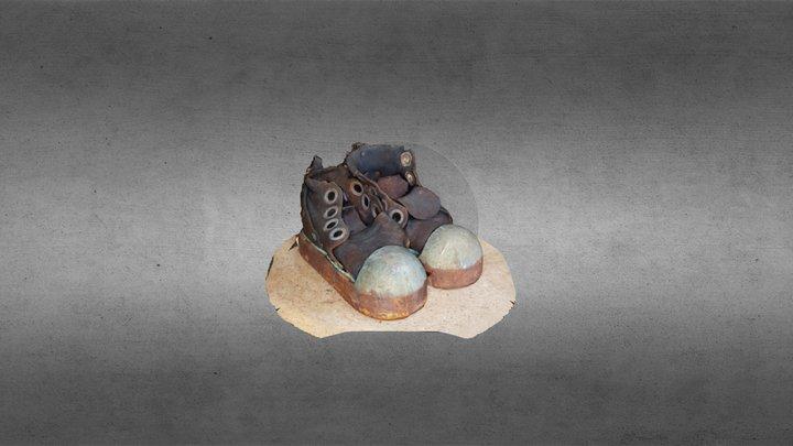 Old Shoes 3D Model