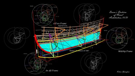 Deane's 17th-century British 3rd-Rate Warship 3D Model
