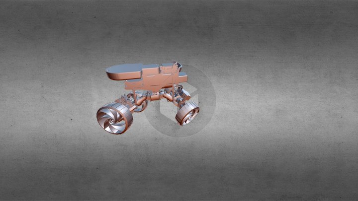 Carduino Crawler 3D Model