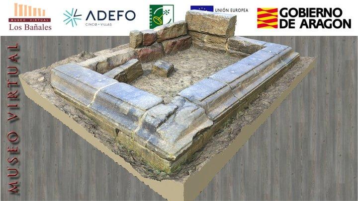 Monumento sepulcral de San Jorge (ss. I-II d.C.) 3D Model