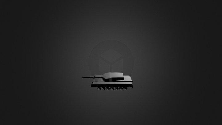 MBT Arjun - In Progress 3D Model