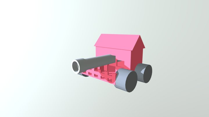 Napalm 3D Model