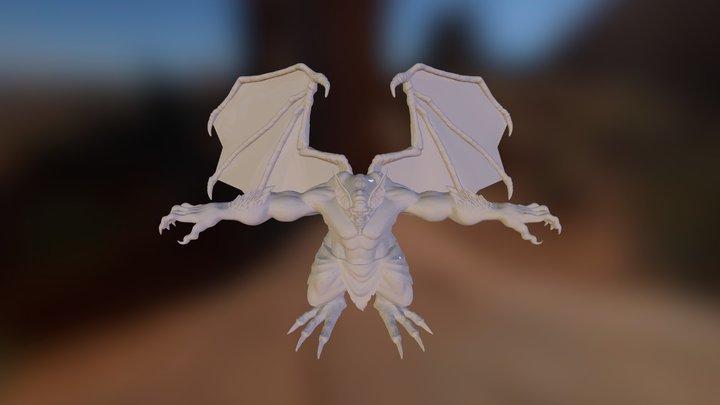 Gargola_Decimation_Hi 3D Model