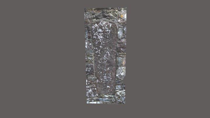 Large Monument, Kildavnet Graveyard, Achill 3D Model