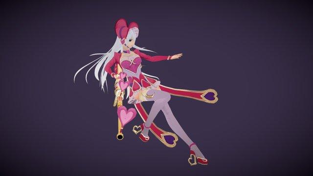 Heartseeker Caitlyn 3D Model