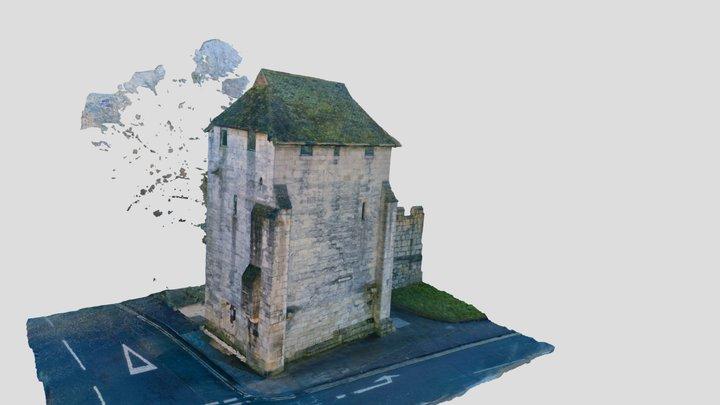 Postern Tower 3D Model