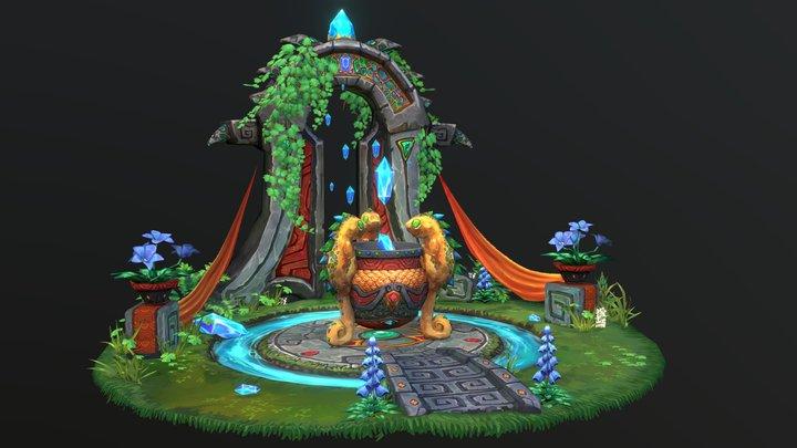 Chameleon Sanctum 3D Model