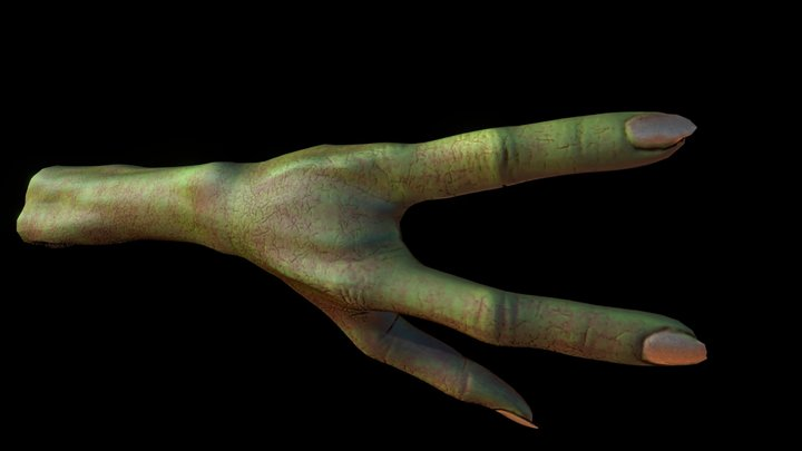 Hand trip 3D Model