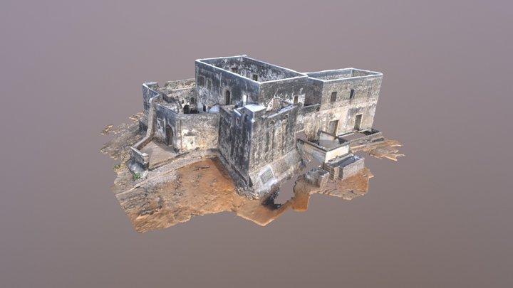 Fort Patience (Fort Lijdzaamheid), Apam, Ghana 3D Model