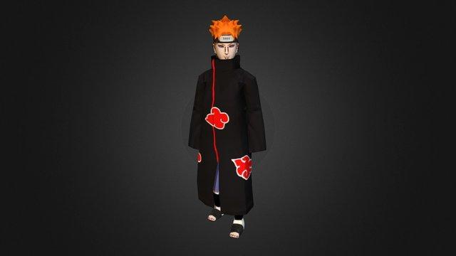 Naruto_Pain 3D Model