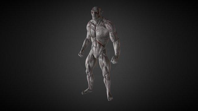 iClone Character Creator - Orc Morph 3D Model