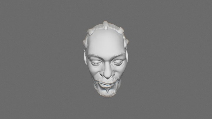 Snoop dogg 3D Model