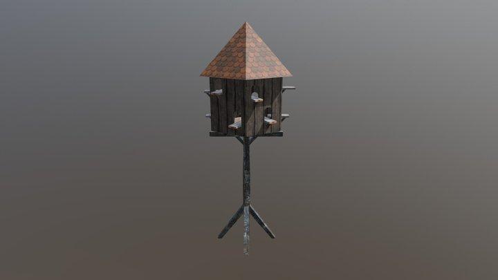 pigeonnier 3D Model
