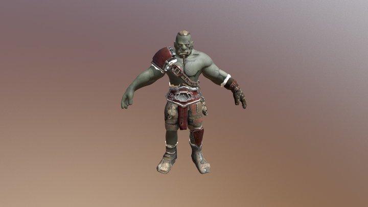 Orc Model 3D Model