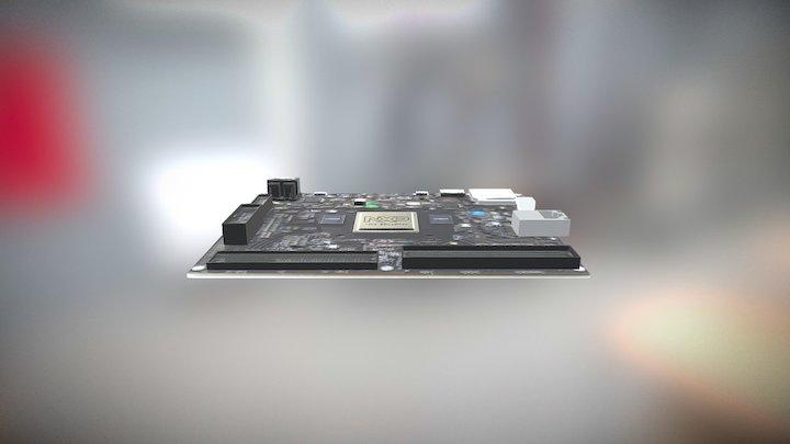 NXP i.MX 8 Quad Max 3D Model