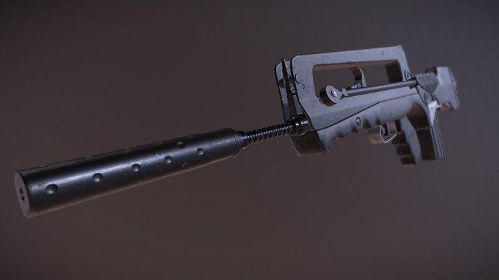 Famas 3D Model