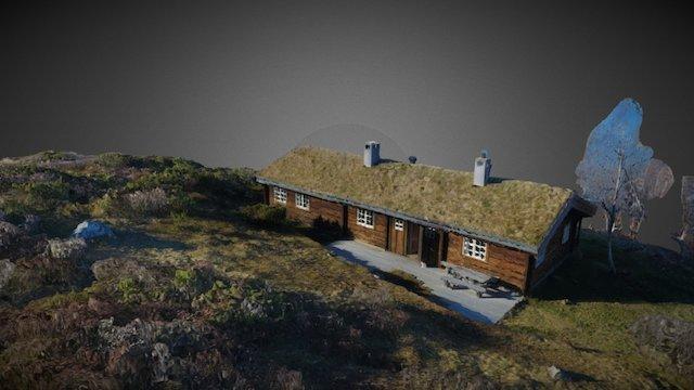 Cabin in Verpestolen, Norway 3D Model
