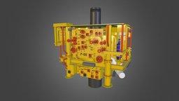 Subsea Xmas Tree 3D Model