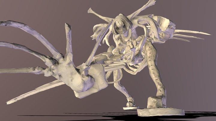 Mushi Mecha Decimation 3DScan 3D Model