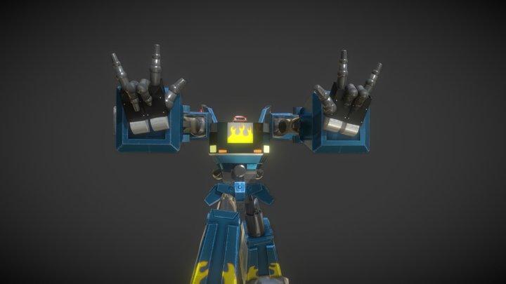Megas XLR- Niiiiiice 3D Model