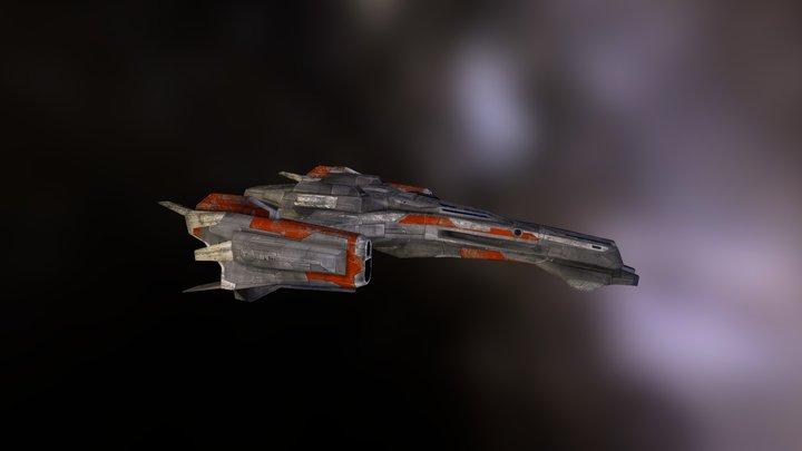 ADDER MK 2 CLASS I STARFIGHTER 3D Model