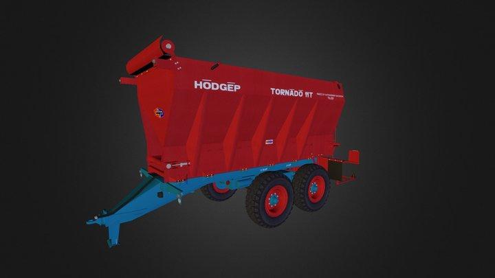 TORNÁDÓ-11T 3D Model