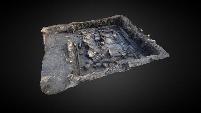Medieval building, basement level, Wrocław, PL 3D Model