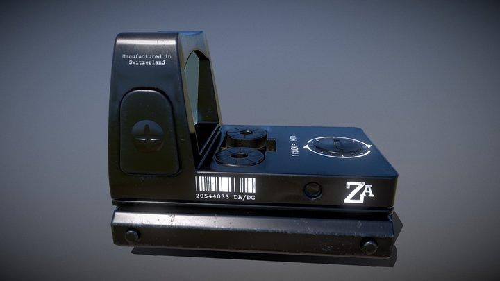 ZA Mini - Red dot sight 3D Model
